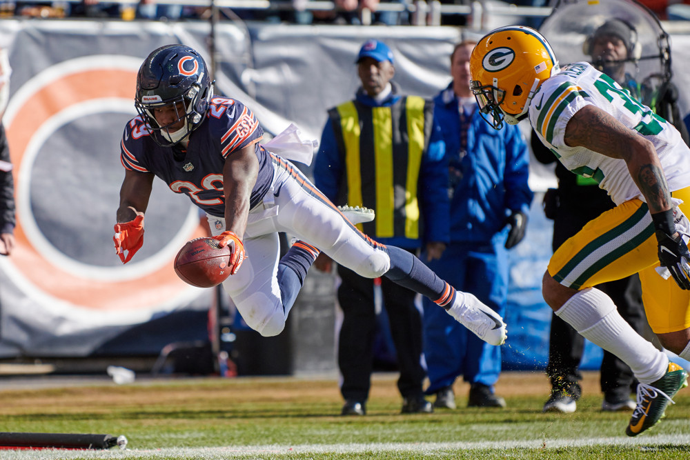 Chicago Bears running back Tarik Cohen