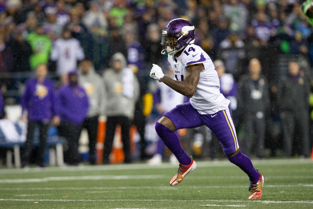 Minnesota Vikings wide receiver Stefon Diggs