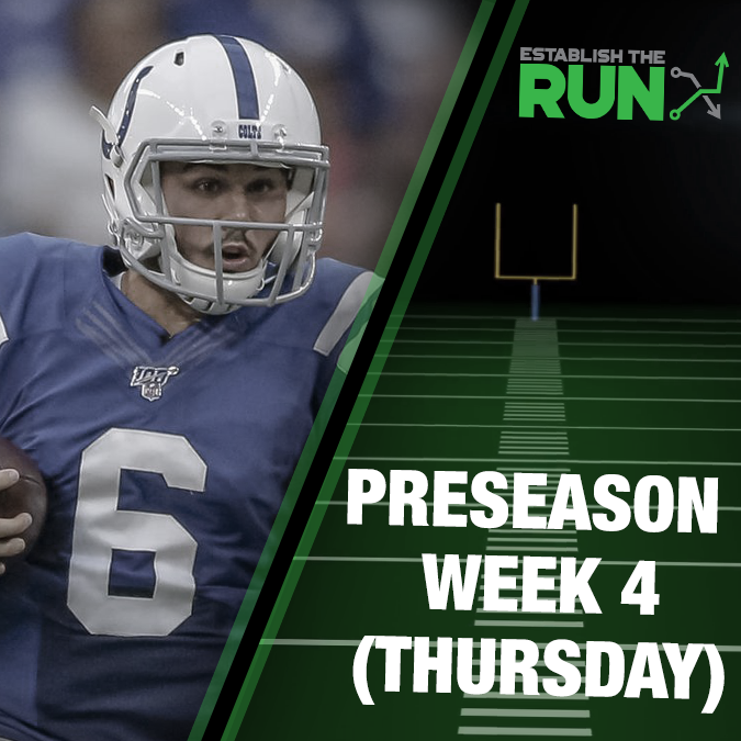 Preseason DFS Live Stream: August 29 at 5:45pm ET
