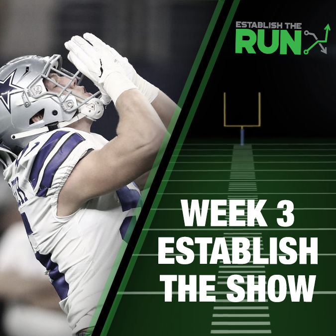 Establish The Show: Week 3