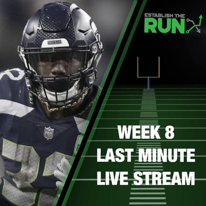 Sunday Last Minute Live Stream at 11:45am EST