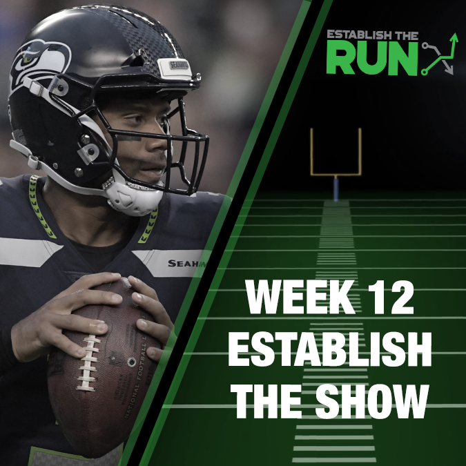 Establish The Show: Week 12, Live Stream at 8:15pm EST