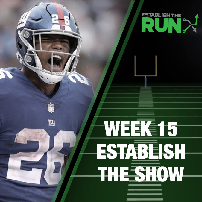 Establish The Show: Week 15