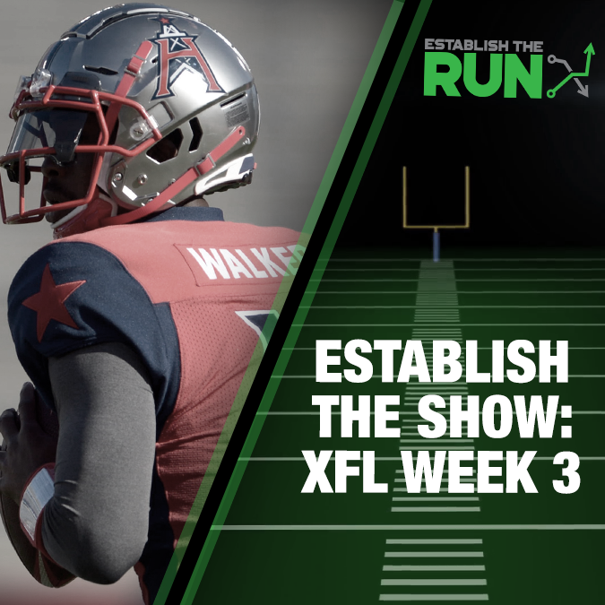 Establish The Show: XFL Week 3