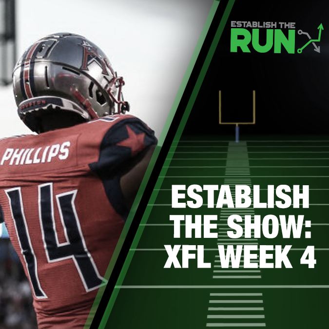 Establish The Show: XFL Week 4