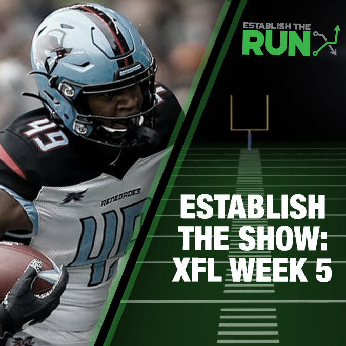 Establish The Show: XFL Week 5