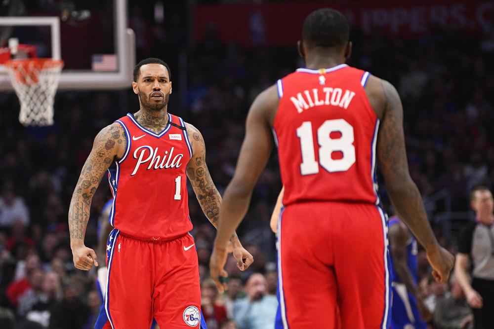 Philadelphia 76ers Depth Chart