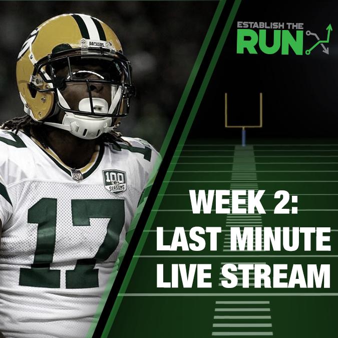 Silva and Levitan Last Minute Live Stream: Week 2, Live Stream at 11:45am ET