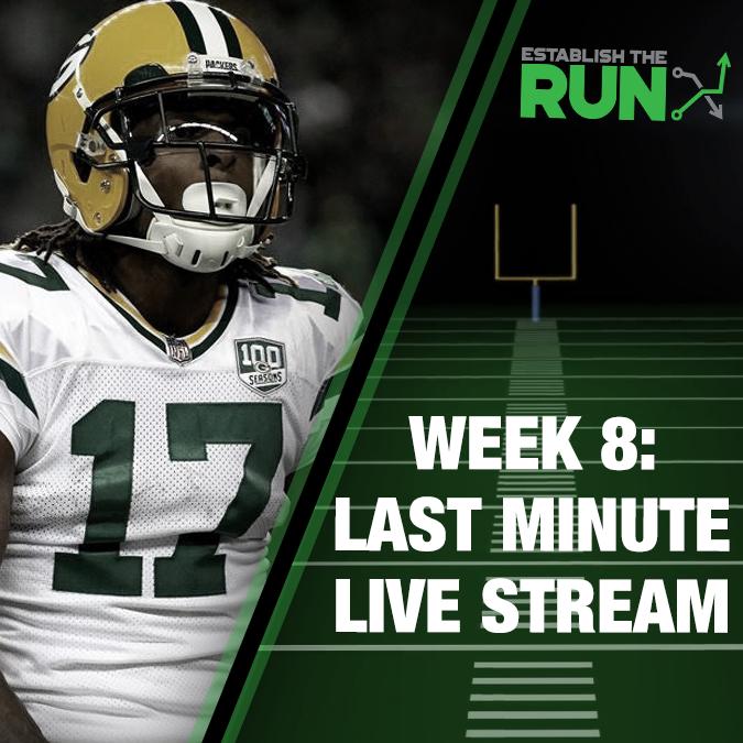 Silva and Levitan Last Minute Live Stream: Week 8, Live Stream at 11:45am ET