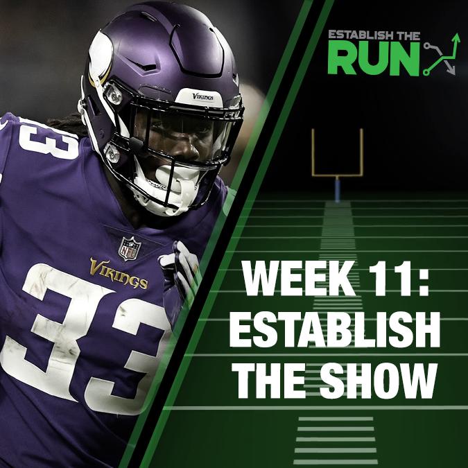 Establish The Show: Week 11