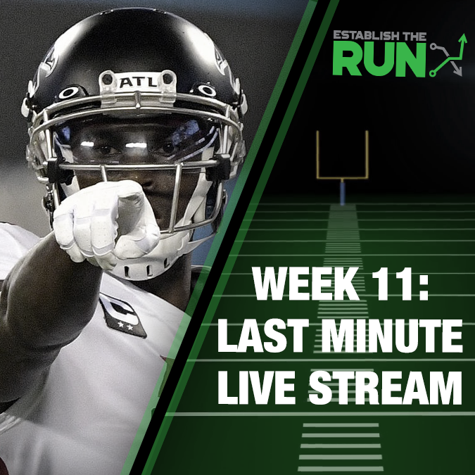 Silva and Levitan Last Minute Live Stream: Week 11, Live Stream at 11:45am ET