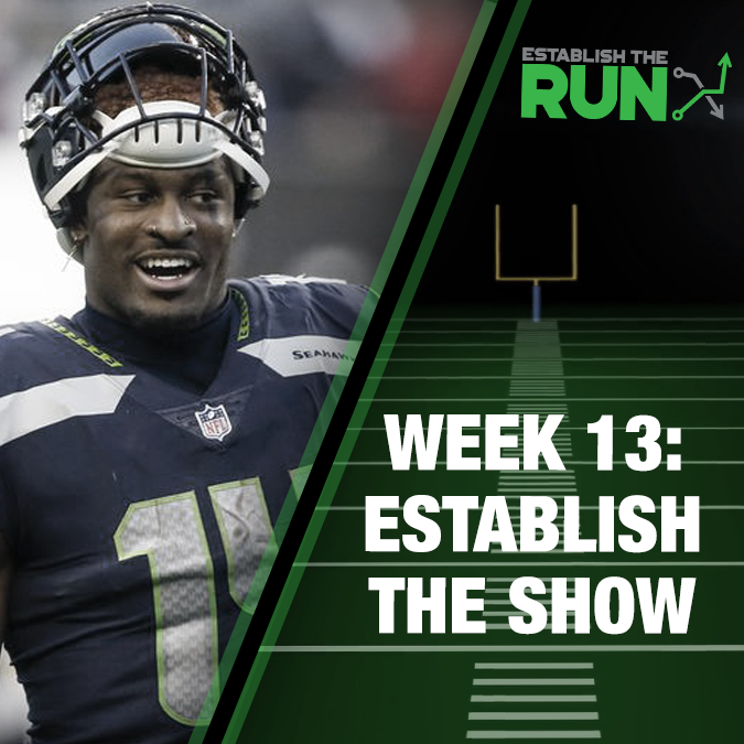 Establish The Show: Week 13, Live Stream Friday at 9pm ET