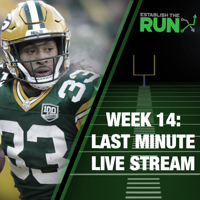 Silva and Levitan Last Minute Live Stream: Week 14, Live Stream at 11:45am ET