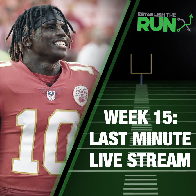 Silva and Levitan Last Minute Live Stream: Week 15, Live Stream at 11:45am ET