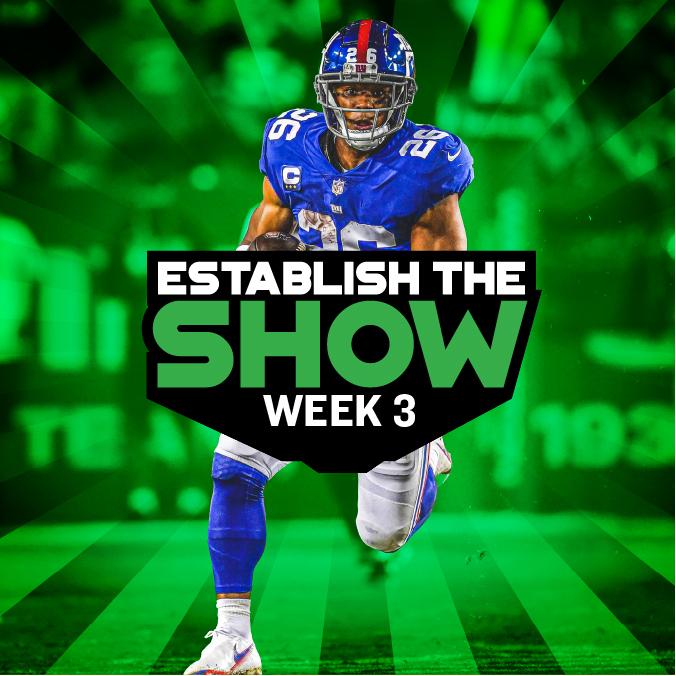Establish The Show: Week 3